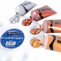 Metallic Color Acrylic Paints For Textile Drawing Wall Hand Painted Art Supplies