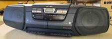 Vintage Ghettoblaster SONY CFD-222L CD-Radio-Cassette Recorder Bj. 1996 B