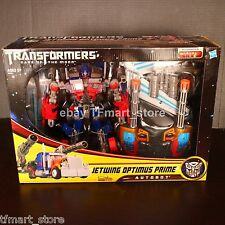 Hasbro Transformers Movie DOTM Leader Supreme Jetwing Jetpower Optimus Prime