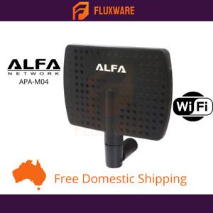 Alfa 2.4GHz 7dBi Long Range High Panel Wifi Antenna - APA-M04