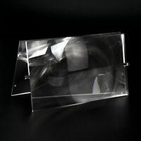 2pcs Plastic Fresnel Lens Solar Focal Length 185mm 120mm for DIY Home Projector