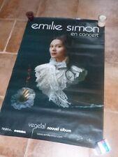 EMILIE SIMON - VEGETAL TOUR !!!!!!!!!!!Affiche promo / French promo poster !!!!!