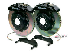 Brembo Front GT Brake 8Pot Caliper Black 380x34 Slot Rotor Benz ML500 ML55 W163