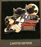 disney trading pin limited edition 30th anniversary downtown vintage souvenir