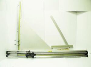 "FLETCHER-TERRY 60"" PLASTIC GLASS & MATBOARD CUTTING MACHINE F3000 60A 11/92"