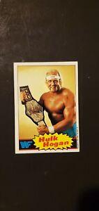 1985 Topps WWF Hulk Hogan Rookie Card #1