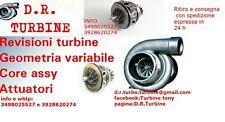 core assy turbina  TURBO VW TRANSPORTER 2.5 TDI 96 KW coreassy 729325-2