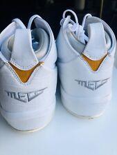 2007 Nike Air Jordan Melo M3 Carmelo Anthony White Silver Size 11.5 3124302-101