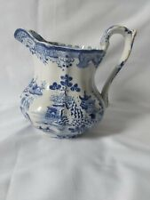 More details for antique mason's ironstone jug blue and white c.1830