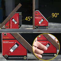 ON/OFF Switch Welding Magnetic Clamp Holder Welder Square Magnet Angle 45° 90°