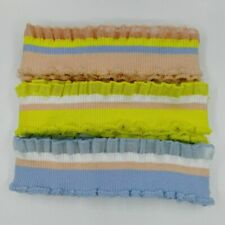 Ruffled Collars Sewing Decors Stretchable Knitted Fabrics Clothing Accessory New