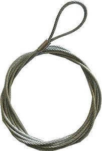 Universal Garage Door Lock Handle Cable Latch Steel Rope Wire Cord Repair Spares