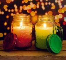Aromatic Candle Jars Set of 2 Apple & Cinnamon & Winterberry Brand New & Boxed