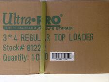 ULTRA PRO 3x4 REGULAR TOP LOADER CASE ( 1,000 COUNT )