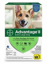 Bayer Advantage II Dogs over 55lbs  6 pack Six months new sealed EPA product