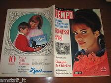 RIVISTA TEMPO 1964/20=JACKIE LANE=IRENE E UGO CARLOS=PIETRO GERMI=ORNELLA VANONI