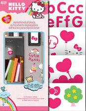 HELLO KITTY wall stickers over 125 decal roomscapes room decor letter cat kitten
