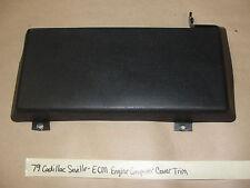OEM 79 Cadillac Seville ECM ENGINE CONTROL MODULE COVER COMPUTER COVER #1607285