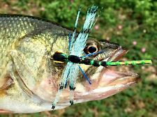 Freshwater Fly Fishing Flies (Bass, Pike, Trout) Crystal Damsel Dragonfly (6)