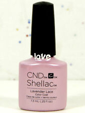 CND Gel Color UV Polish Flirtation Collection 91178- Lavender Lace