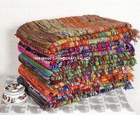 Indian Chindi Rag Rug Home Floor Decor Runner Yoga Mat Carpet Hand Woven 5.5'x3'