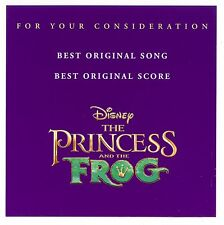 The Princess and the Frog For Your Consideration FYC Best Original Song & Score