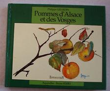 Pommes d'Alsace et des Vosges GIRARDIN & B FERRY éd Du Rhin 1993