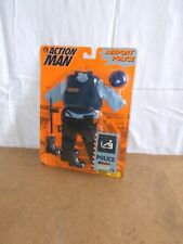 RARE modern ACTION MAN mam - HASBRO - AIRPORT POLICE set - MOSC - 1997