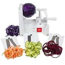 PADERNO WORLD CUISINE A4982799 TRI-BLADE VEGETABLE SLICER NEW IN BOX