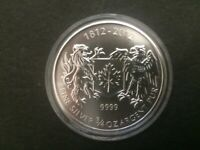 2012 3/4 oz Canada War of 1812 Silver Coin Canadian 3/4oz Bullion coin