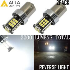 Alla Lighting 1156 6000K 30-LED Back Up Reverse Lights Backup Bulbs Lamps,White
