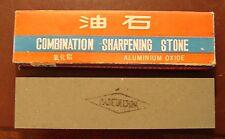Combination Aluminum Oxide Sharpening Stone 8 X 2 X 1