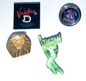 Musical Pins Pin König der Löwen Tarzan Rebecca Tanz Der Vampire