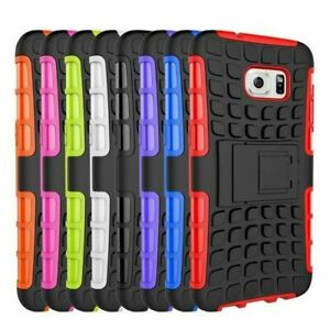 Shockproof Rugged Hard Duty Stand Armour Tyre Case Cover Samsung A32 A52 A72