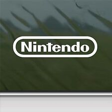 "Nintendo White Sticker Decal Car Window Wall Macbook Notebook Laptop Sticker 6"""