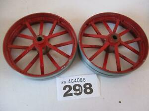 USED MAMOD SPARES TE1A LIVE STEAM TRACTION ENGINE REAR WHEELS W298