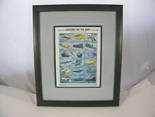 1995 PALAU DESIGNS FOR THE DEEP FRAMED PLATE BLOCK STAMPS RECORD OF SUBMERSIBLES