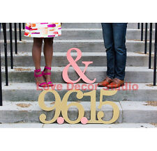 Engagement Photo Prop Sign for Save The Date Engagement Photo Sign in Custom