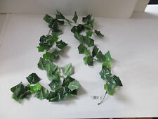 Green Ivy Garland Artificial Silk 5ft 6 Inches With 72 Leaves
