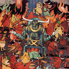 Dance Gavin Dance - Afterburner LP - COLORED Vinyl Album SEALED Record
