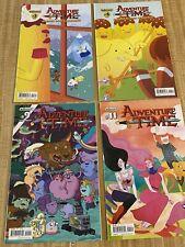 Adventure Time #9, #11 + Banana Guard Academy #3 - #4 by Kent Osborne (2014)