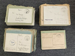 Feldpost Konvolut, Infanterie Regiment 194, knapp 200 Briefe, 1939-1942
