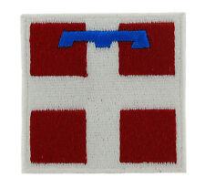 Parche bandera PATCH bordado termoadhesivo STEMMA PIEMONTE ricamata ricamo