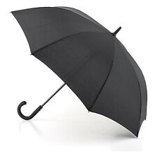 Black Umbrella Open & Close Windproof Storm Folding Travel Compact Rain Walking