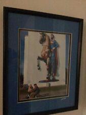 Framed Melting Superman Photo of Wittenberg Germany Signed #'d by Jost Houk