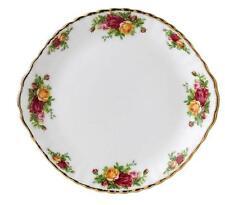 "Brand New Royal Albert ""Old English Roses"" Cake Plate 26cm B&B Plate RRP $139"