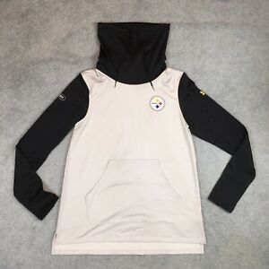 NFL Pittsburgh Steelers Under Armour Combine Pullover Mock Neck Women's Small