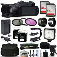 Canon XA25 HD Professional Camcorder Video Camera + 128GB Accessories Bundle