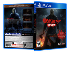 Friday the 13th: The Game - ReplacementPS4 Cover and Case. NO GAME!!