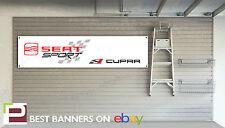 Seat Cupra Taller Garage Banner Arosa, Ibiza, Leon